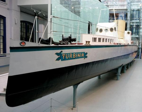 Turbinia and the steam turbine