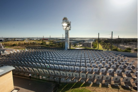 Supercritical solar world record and steam