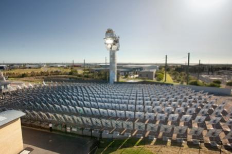 Supercritical solar world record and steam