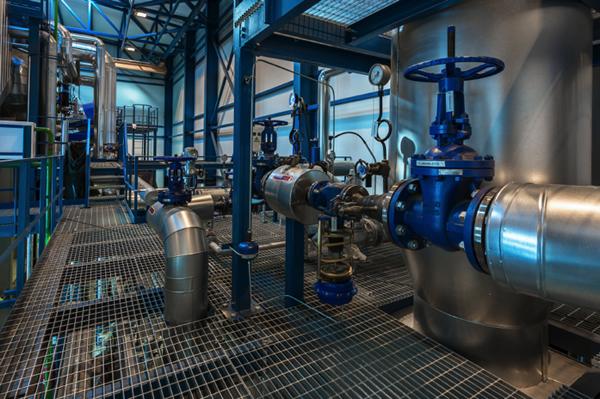 Waterhammer in a steam system