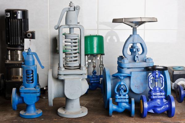 SG Iron and steam valves