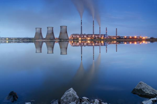 Coal fired power plant steam use