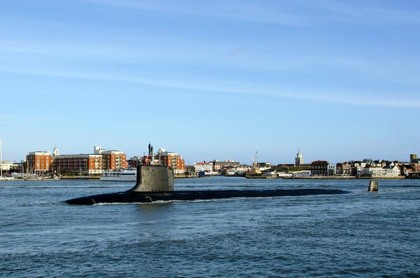 Nuclear submarines and steam